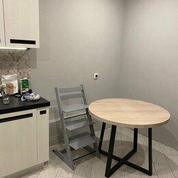 Столы и столики - Стол, Столешница из мебельного щита - массив дуба, 0