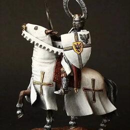 Другое - Оловянная миниатюра 54-мм рыцарь тевтонского ордена, xii a.d. (54-мм), 0