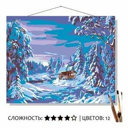 Рукоделие, поделки и товары для них - Картина по номерам Волшебство зимы (40x50 см), 0
