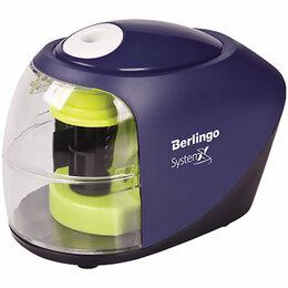 """Мусаты, точилки, точильные камни - Точилка электрическая Berlingo """"SystemX"""", 1 отверстие, с контейнером, картон...., 0"""