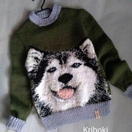 Свитеры и кардиганы - Детский свитер с хаски, 0