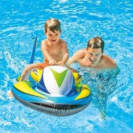 Аксессуары для плавания - Скутер надувной 117 см х 77 см, Intex, 0