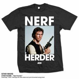 Футболки и майки - Футболка Star Wars - Nerf Herder (XL) США, 0