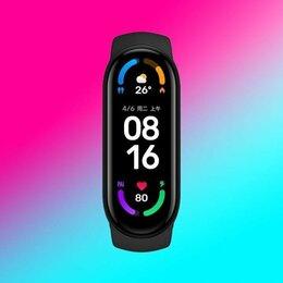 Умные часы и браслеты - Часы, фитнес браслет Xiaomi Mi Band 6, 0