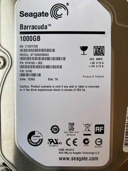 """Внутренние жесткие диски - HDD 1Tb Seagate Barracuda  7200rpm 64Mb 3.5"""", 0"""