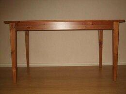 Столы и столики - Обеденный стол из массива Хоберг Икеа…, 0