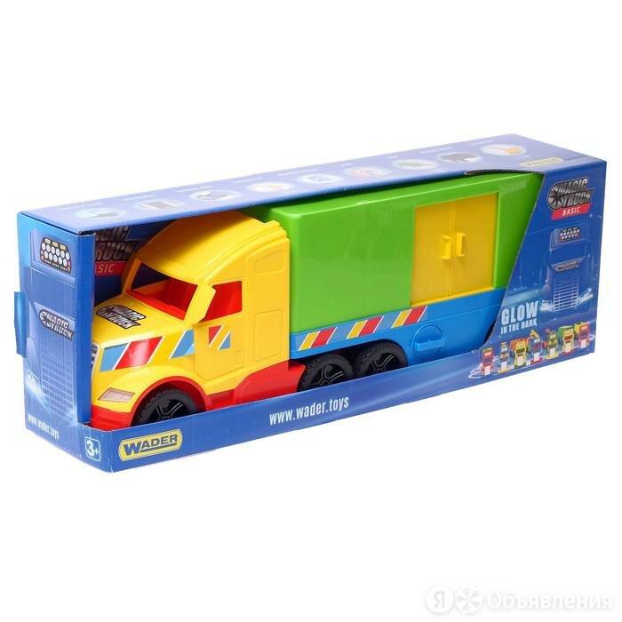Грузовик Magic Truck Basic, фургон по цене 4758₽ - Машинки и техника, фото 0