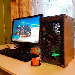 Настольные компьютеры - Компьютер, системный блок, 0