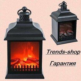 Камины и печи - Электрический камин led fireplace lantern SP-23, 0