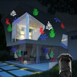 Интерьерная подсветка - Светодиодный проектор для дома и улицы Праздничный, 0