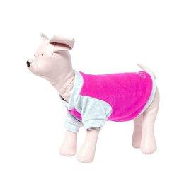 Одежда и обувь - Толстовка Osso для собак, велюр, размер, розовая, 0