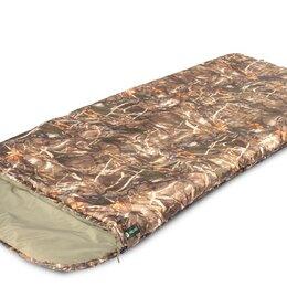 Спальные мешки - Спальный мешок PRIVAL Степной XL КМФ (90 см, файберпласт 300 гр/м2, ле, 0