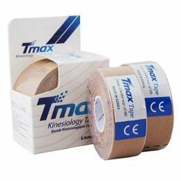 Тормоза - Тейп кинезиологический Tmax Extra Sticky Biege…, 0