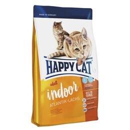 Корма  - Сухой корм Happy Cat Indoor Atlantik-Lachs 4 кг, 0