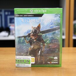 Игры для приставок и ПК - Biomutant - Xbox One Новый диск, 0