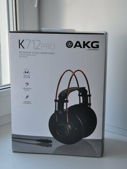 Наушники и Bluetooth-гарнитуры - Наушники AKG K 712 Pro новые, 0