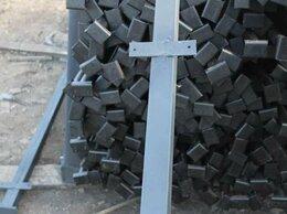 Заборы и ворота - Столбы железные (металлические) для забора…, 0
