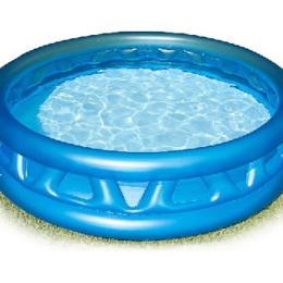"Бассейны - Бассейн надувной ""Soft Side Pool"" ребристый 188х46 см. Intex, 0"