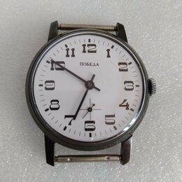 Наручные часы - Часы  ПОБЕДА 2602 в чёрном корпусе, 0