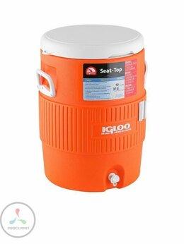 Сумки-холодильники - Контейнер изотермический IGLOO 10 GAL, оранжевый, 0