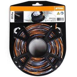 Леска и ножи - Косильная струна STIHL 3,3 мм x 36 м Carbon крестообразного сечения, 0