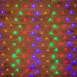 Новогодний декор и аксессуары - Новогодняя гирлянда Neon-Night Гирлянда светодиодная Cеть 220В 1.5х1.5м 150 д..., 0