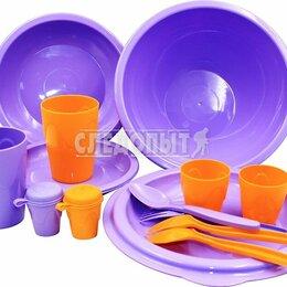 Наборы для пикника - Набор для пикника PF-CWS-PS03 СЛЕДОПЫТ «Tete-a-Tete» пластик, на 2 персоны, сумк, 0