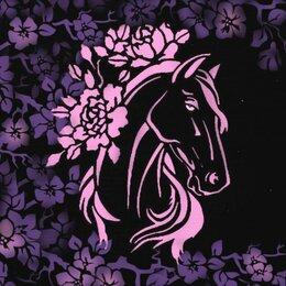 Картины, постеры, гобелены, панно - Картина Лошадь в райском саду, 0