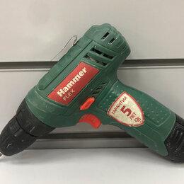 Дрели и строительные миксеры - Дрель-шуруповерт hammer ACD12LE, 0