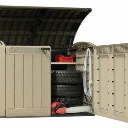 Аксессуары для садовой мебели - Пластиковый уличный ящик Store It Out ULTRA 2000 литров, 0