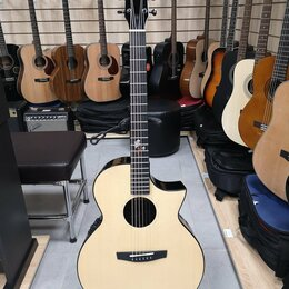 Акустические и классические гитары - Трансакустическая гитара Enya EA-X2С PRO+EQ, 0