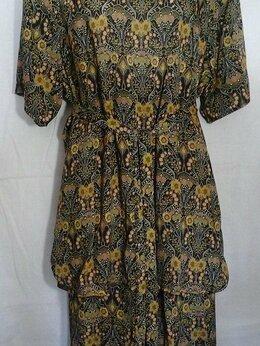 Костюмы - Лёгкий летний костюм блузка и юбка. Новый, 0
