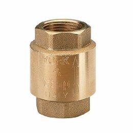 """Электромагнитные клапаны - ITAP ART 103 """"YORK"""" 4"""" Обратный клапан с пластиковым седлом, 0"""