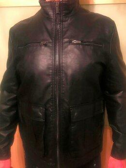 Куртки - Новая кожаная куртка Kenneth Cole, коллекция New…, 0
