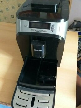 Кофеварки и кофемашины - Автоматическая кофемашина автомат Severin, 0