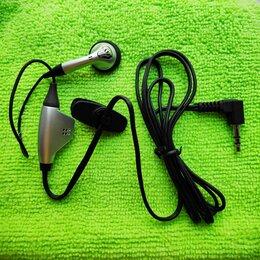 Гарнитуры для проводных телефонов - Гарнитура проводная, новая, от рации, 0
