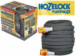 Шланги и комплекты для полива - Шланг поливочный ГИБРИДНЫЙ 25м HoZelock TuffHoze, 0