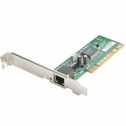 Сетевые карты и адаптеры - Cетевая карта PCI 100 мегабит D-Link DFE-520TX, 0