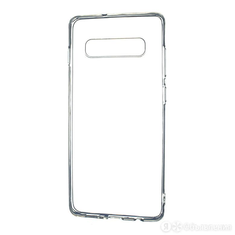 Чехол-накладка для Samsung G975F S10 Plus FASHION TPU пакет прозрачный по цене 180₽ - Чехлы, фото 0
