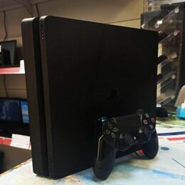 Игровые приставки - Игровая приставка Sony playstation 4 slim 500gb, 0