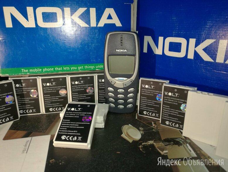 Аккумуляторы Nokia новые для старых моделей по цене 350₽ - Аккумуляторы, фото 0