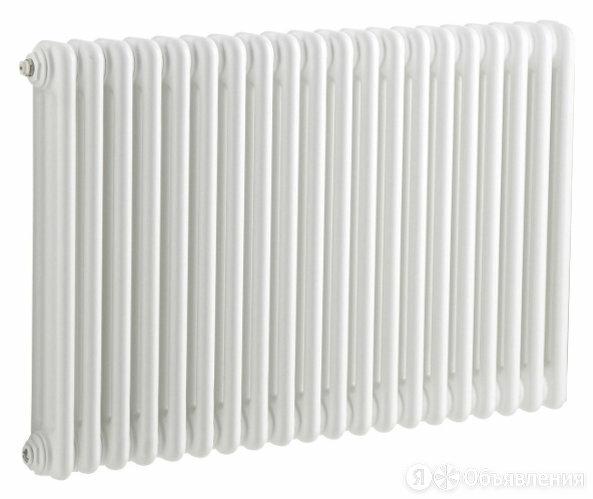 Радиатор стальной 3-х трубчатый Tesi 565/20 секций, нижнее подключение, белый... по цене 44458₽ - Комплектующие для радиаторов и теплых полов, фото 0
