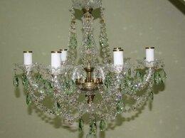 Люстры и потолочные светильники - Люстра ArtGlass Аня VI. CE light patina 5005, 0
