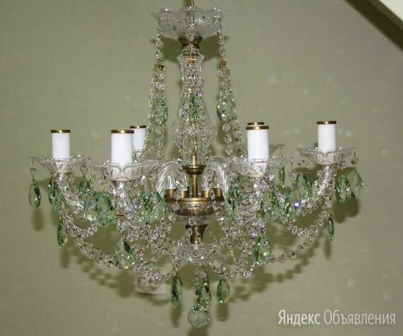 Люстра ArtGlass Аня VI. CE light patina 5005 по цене 30000₽ - Люстры и потолочные светильники, фото 0