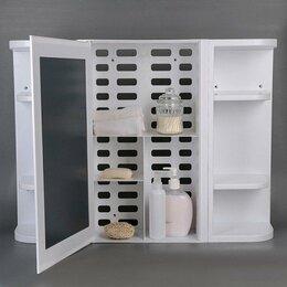 Полки, стойки, этажерки - Набор для ванной комнаты Hilton, цвет белый, 0