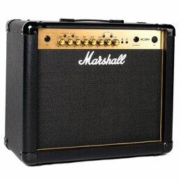 Гитарное усиление - Marshall MG30GFX Gold Комбоусилитель гитарный, 4…, 0
