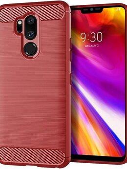 Чехлы - Чехол для LG G7 ThinQ (G7+ ThinQ) цвет Red…, 0