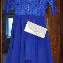 Платья - Платье, босоножки, клатч, серьги-кисти., 0