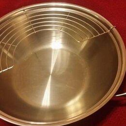 Сковороды и сотейники - Сковорода вок fissler, 0