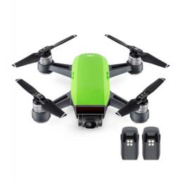 Квадрокоптеры - Квадрокоптер Spark + 2 доп. батареи, зеленый, 0